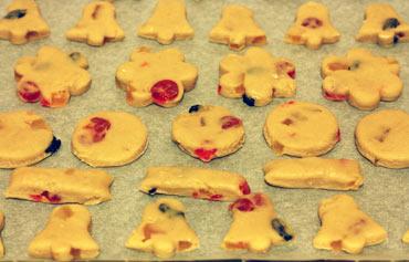 Печенье из теста