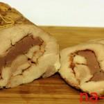 Рулет из свинины и говядины