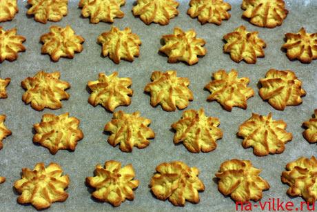 Печенье из кукурузной муки и орехов