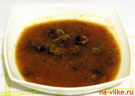 Суп из бычьих хвостов