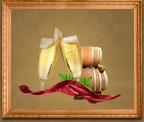 Российское шампанское сладкое