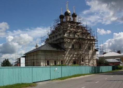Храм Николы на Посадях в Коломне