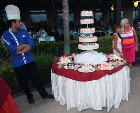 Торт в Турции