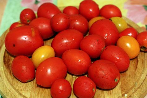 Мелкие помидоры