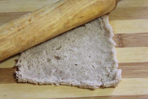 Хлеб скалкой