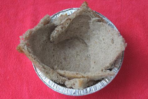 Хлеб в формочке