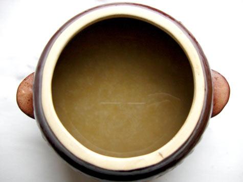 Крупа ячневая в горшочке