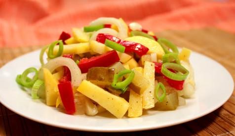 Немецкий салат с картофелем
