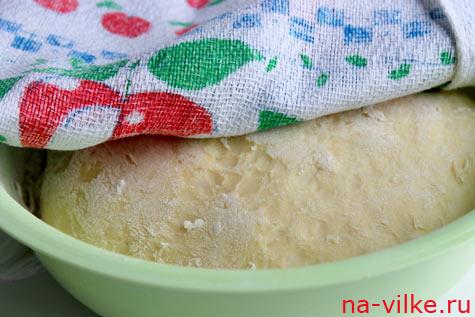 Тесто на хлеб