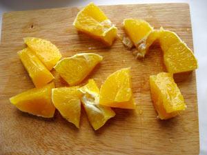 дольки апельсина