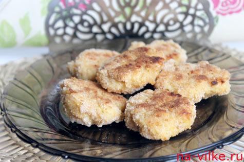 Куриные котлеты с рисом и сыром