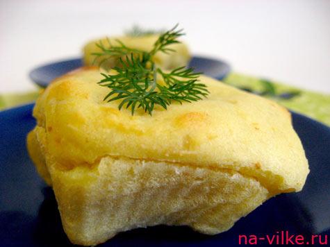 Картофельные маффины с сыром