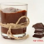 Шоколадная паста и шоколад
