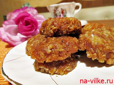 Овсяное австралийское печенье Анзак
