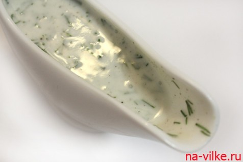чесночно-йoгуртовый соус