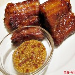 Свиные ребра в медово-соевом маринаде