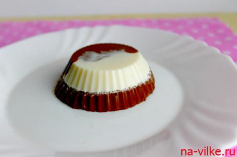 Суфле сливочно-шоколадное