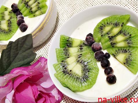 Сметанный десерт «Бабочка»
