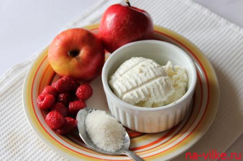 Яблоки и рикотта