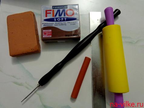Набор для лепки из полимерной глины