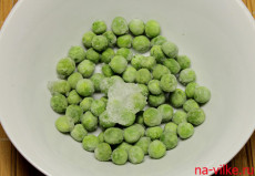 Замороженный зелёный горошек