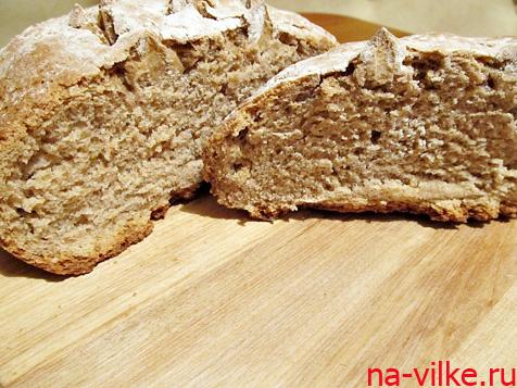 Пшенично – ржаной хлеб