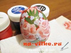 Пасхальное расписное яйцо