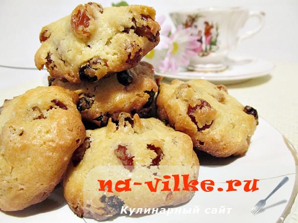 Печенье с изюмом