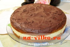 Шоколадный торт с кокосовым кремом