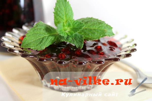 Варенье из красной смородины в мультиварке