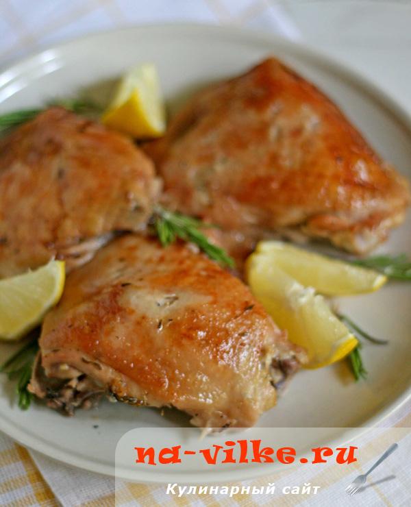 Курица в лимонном соке – кулинарный рецепт