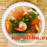 Лимонный суп с креветками – кухня Камбоджи