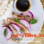 Крылья ската – рецепт приготовления стейков