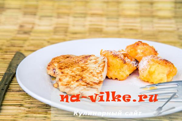 Овощные Рафаэлло со свининой в кокосовом маринаде