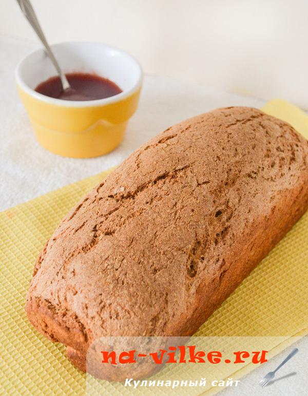 Простой ржаной хлеб