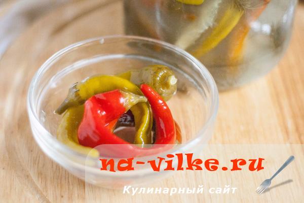 Перец горький квашеный – пошаговый рецепт с фотографиями