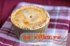 Пирог с курицей в горшочке Chicken Pot Pie