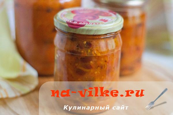 Фасоль консервированная в томатном соусе на зиму