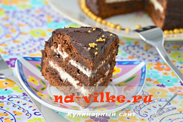 Шоколадный торт Бриллиант