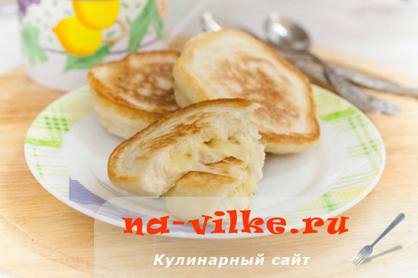 Оладьи с сыром на кефире