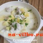 Рыбная похлебка (fish chowder)