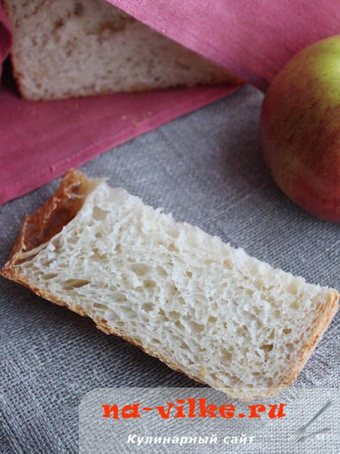 Пшеничный яблочный хлеб