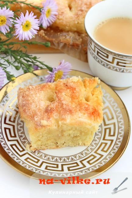Сахарный пирог (Tarte au sucre) - фото рецепта