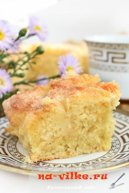 Сахарный пирог (Tarte au sucre)