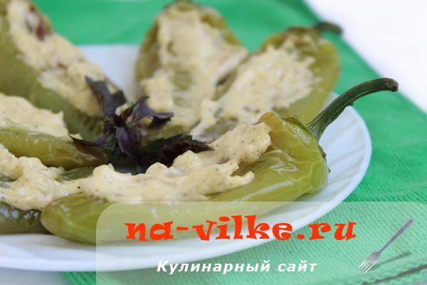 Жареный сладкий болгарский перец