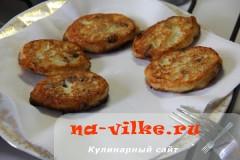 Cырники с изюмом быстрого приготовления