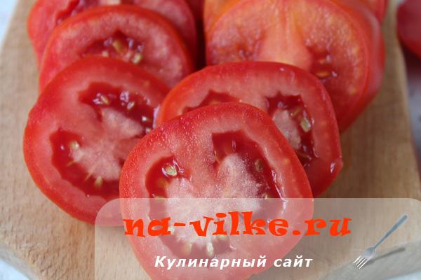Как заморозить помидоры кружочками