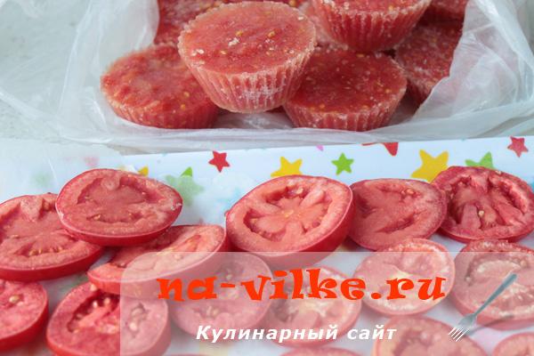 Морозим помидоры на зиму