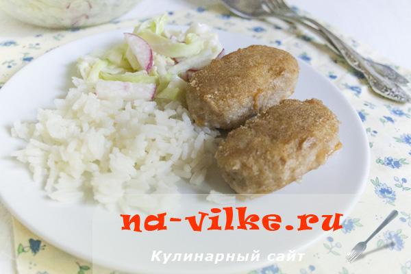 Колбаски рыбные по ГОСТу