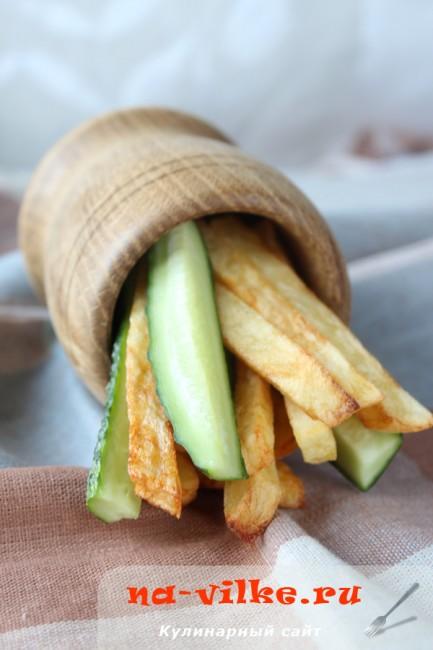 Домашняя картошка фри